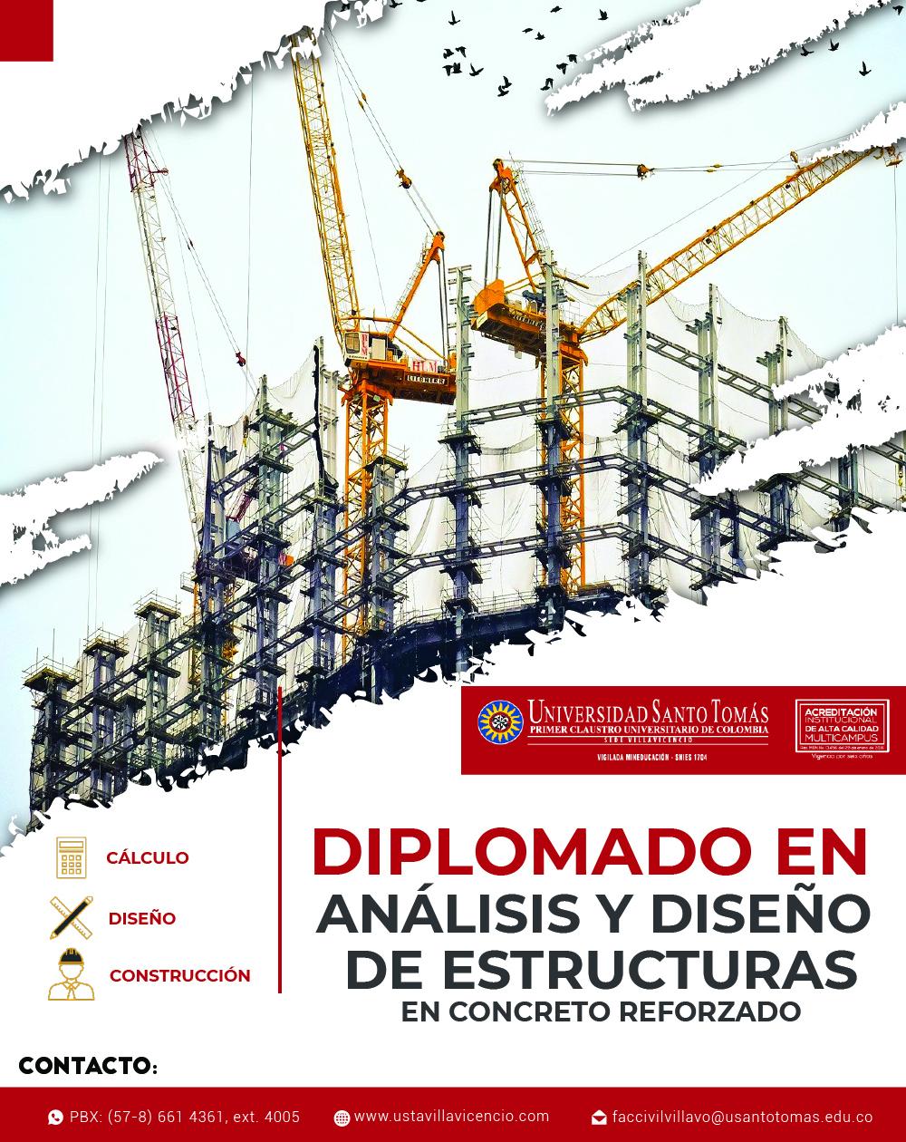 Diplomado en Análisis y Diseño de Estructuras en Concreto Reforzado USTA Villavicencio